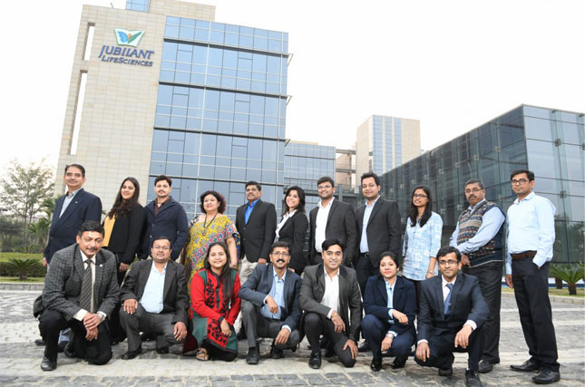 Jubilant Life Sciences team
