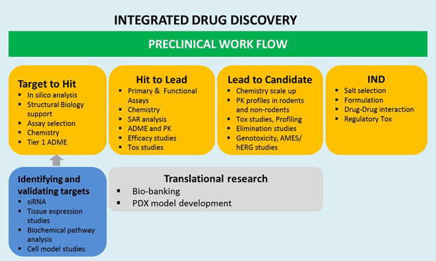 Integrated drug discovery services